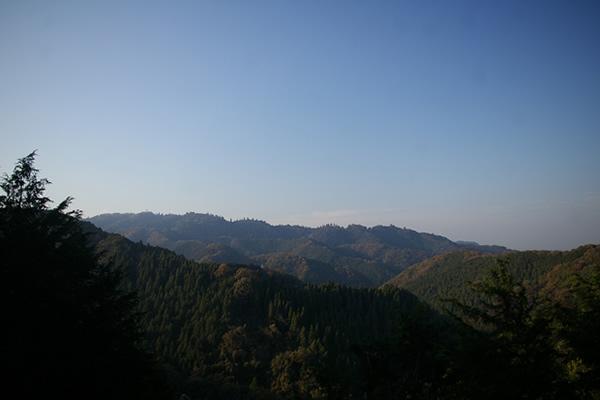 南高尾山稜